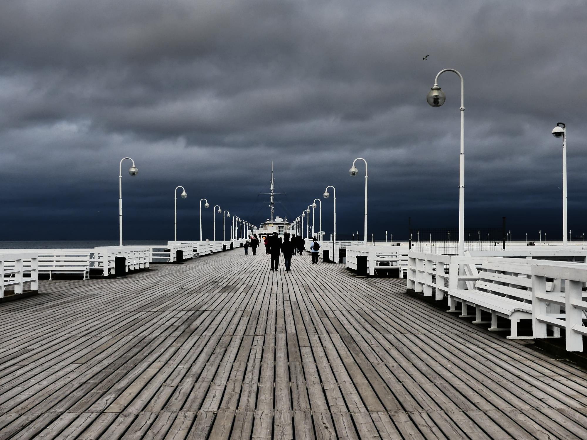 On the Pier Debbie