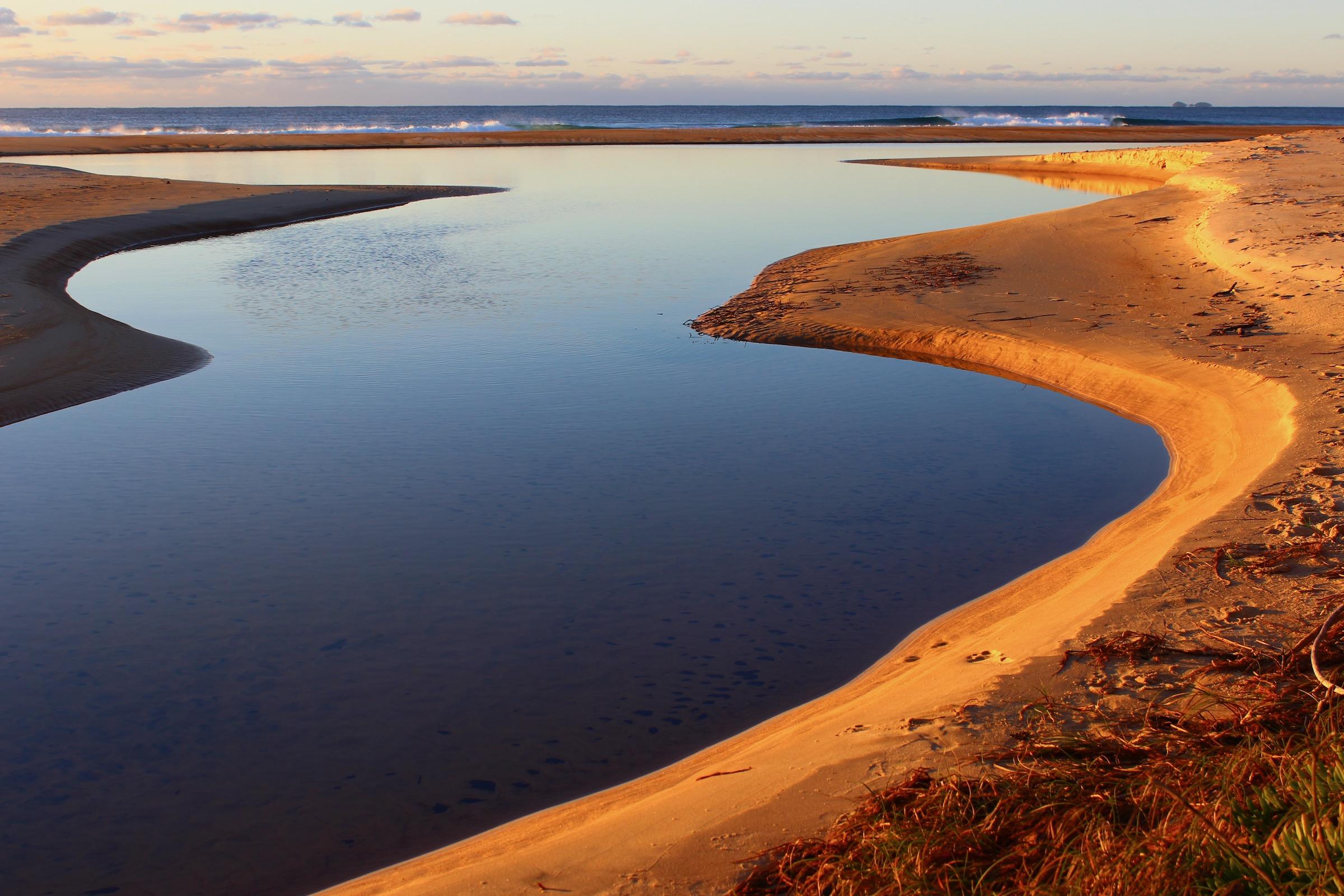 Freshwater Lagoon.Tess