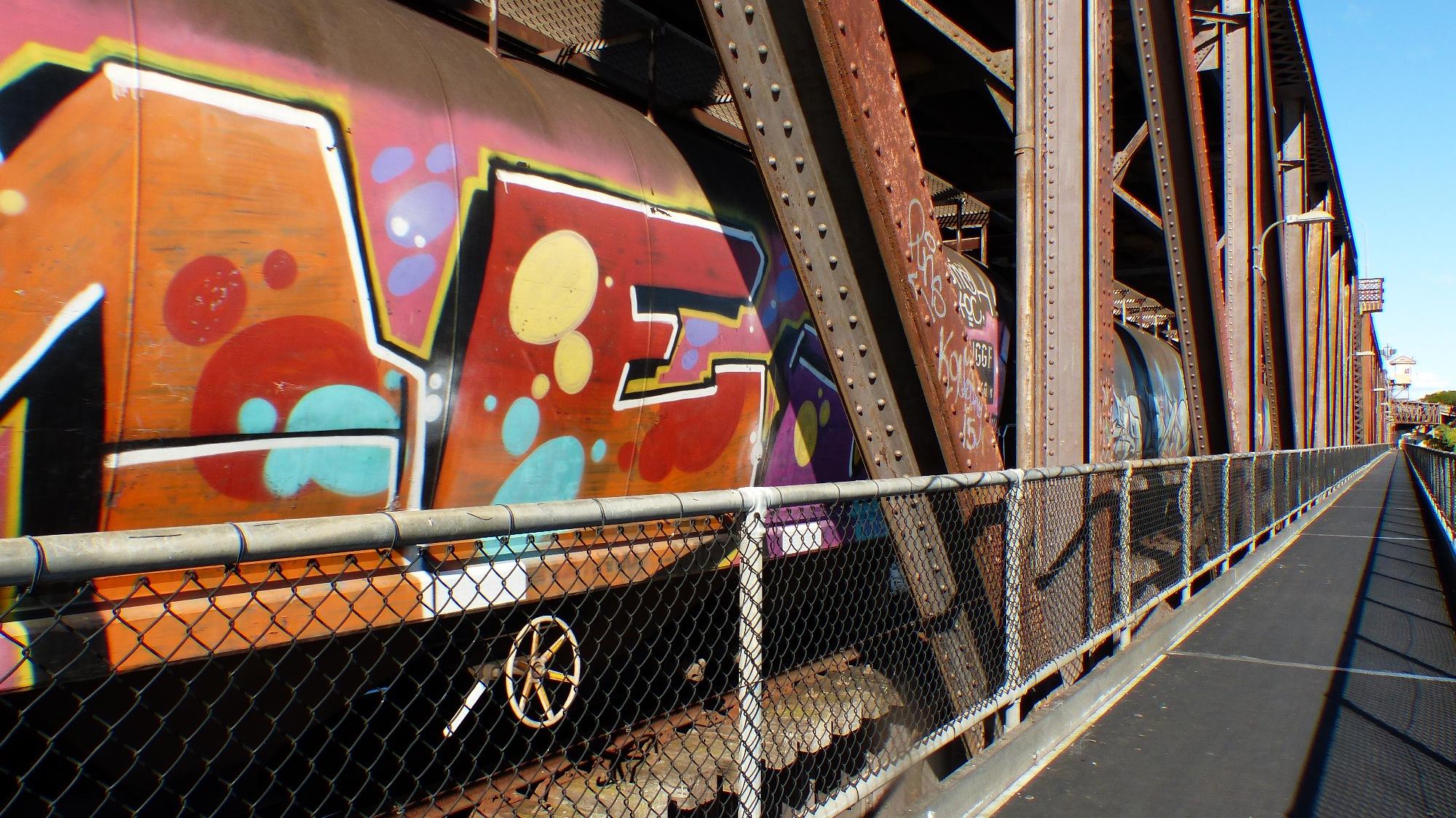 Graffiti Train.Debbie