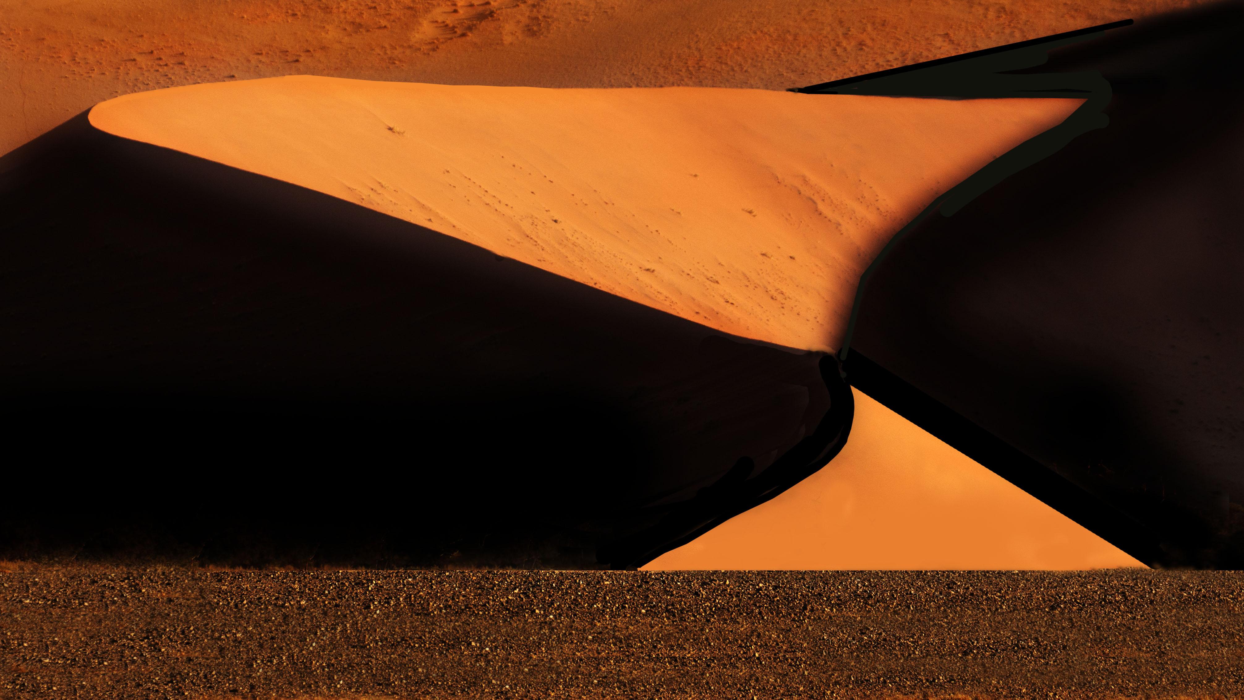 Hour Glass Sand Dune