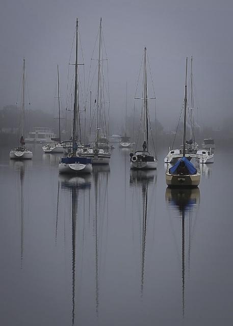 Misty Morning J Wilson