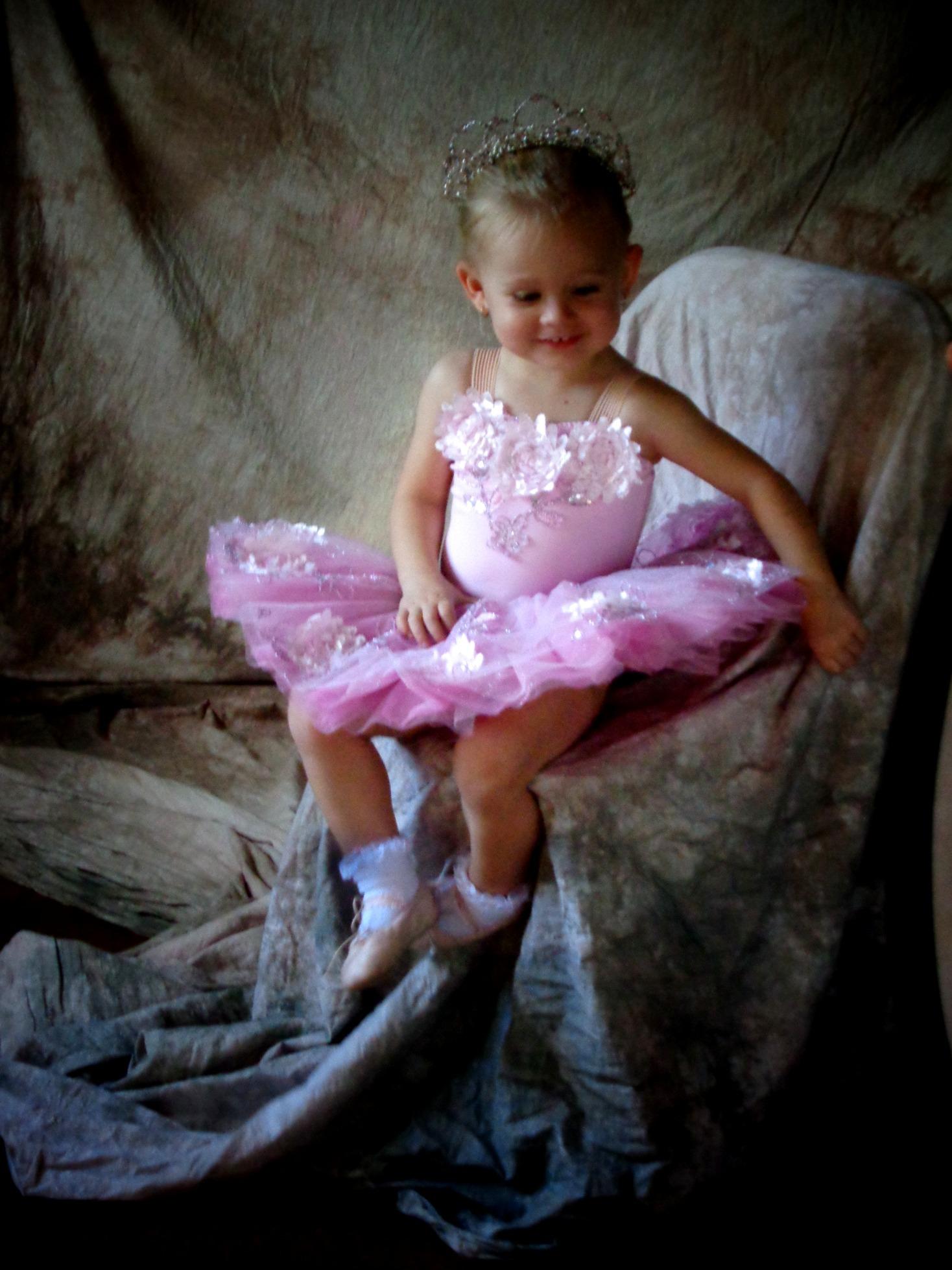 Baby ballerina Dorothy Cox