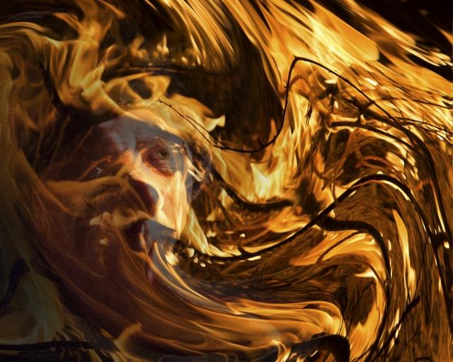 Open up in Flames - J Wilson