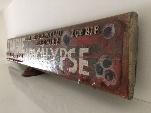Zombie Apocalypse accessory rack