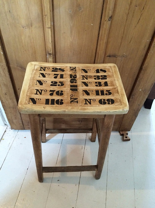 1940's School stool