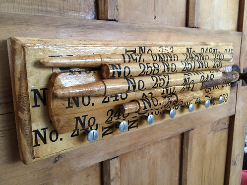 Library piece Coat & Accessory Rack