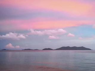 Sky turned pastel