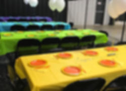 Party Decorations at Ricochet