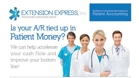 atlanta health care medical logo pamphlet flyer direct mail design extension express graphics.png