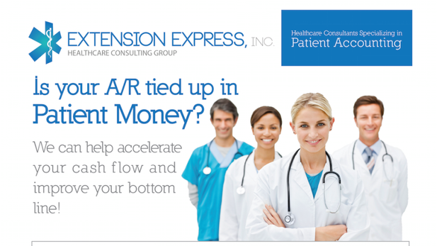 atlanta health care medical logo pamphlet flyer direct mail design extension express graphics.png