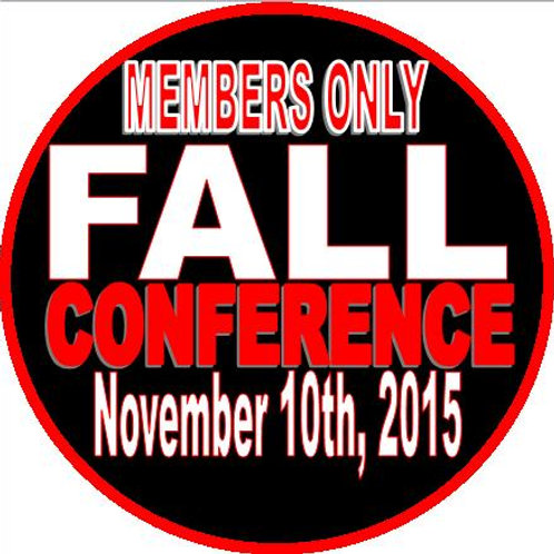 Fall Conference (Members Only Price)