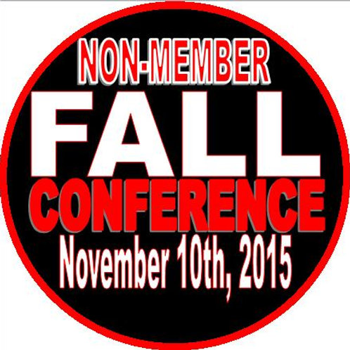 Fall Conference (Non-Members Only)