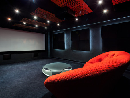 Painting Tips for Your Theatre Room