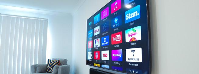 Sony TV and Yamaha Soundbar
