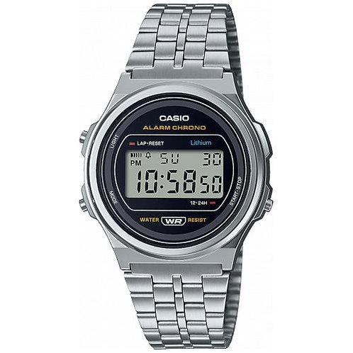 Casio - Vintage orologio  A171WE-1AEFLuce LED Un diodo per l´emissione