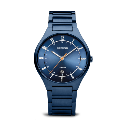 Bering - Titanium - blu opaco - Orologio Uomo - 11739-797