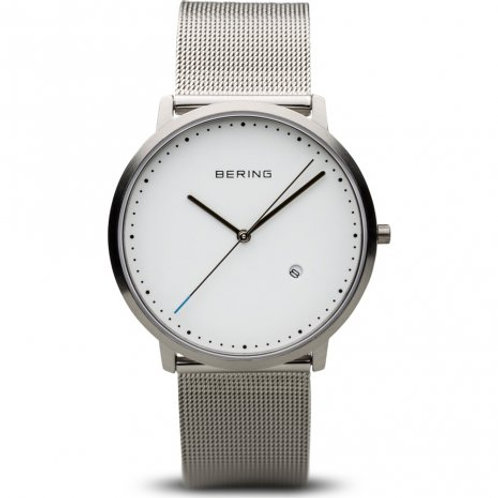 Bering - Classic - argento spazzolato - Orologio Uomo - 11139-404