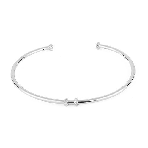 Rosato - Bracciale rigido in Argento 925‰ RZB024