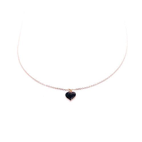 Versari Accessories - Collana smaltata cuore C87