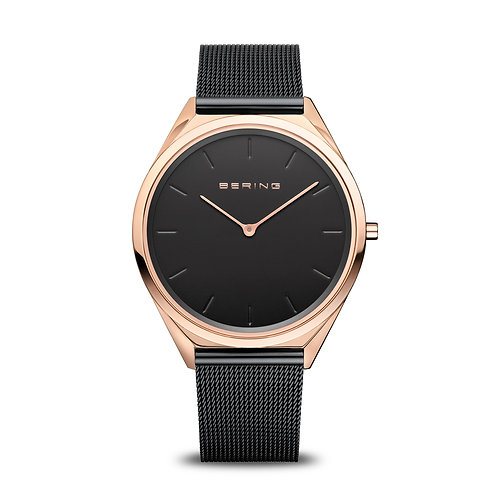 Bering - Ultra Slim - oro rosa brilliante - Orologio Unisex - 17039-166