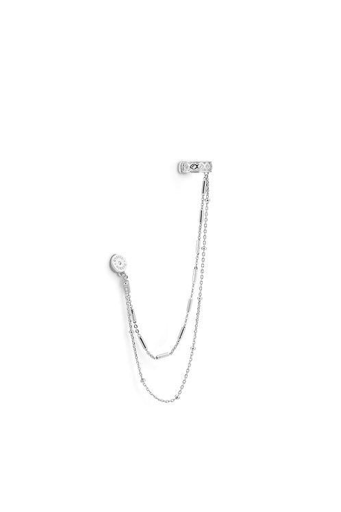 Rosato - Monorecchino pendente in argento 925‰ RSOG43