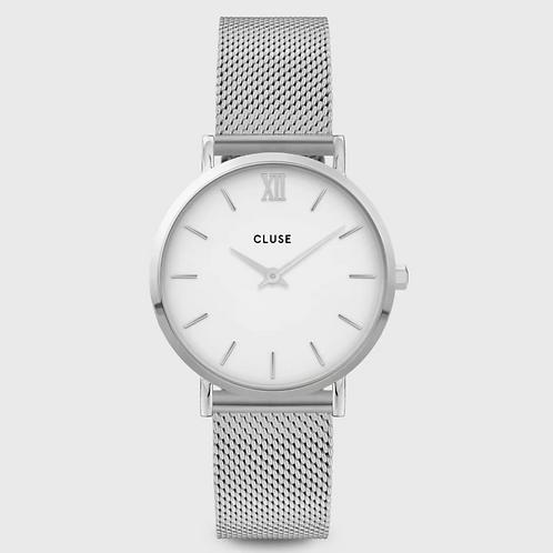 Cluse - Minuit Mesh White, Silver Colour - Cw0101203002