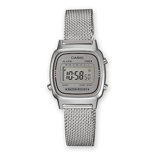 Casio - Vinatge Mini orologio donna LA670WEM-7EF