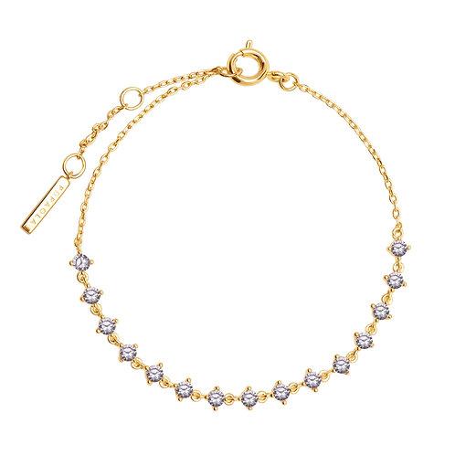 PdiPaola - Bracciale dorato Victoria argento 925 PU01-108-U
