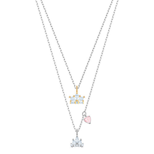 Swarovski – COLLANA OUT OF THIS WORLD QUEEN, BIANCO, MIX DI PLACCATURE 5441393