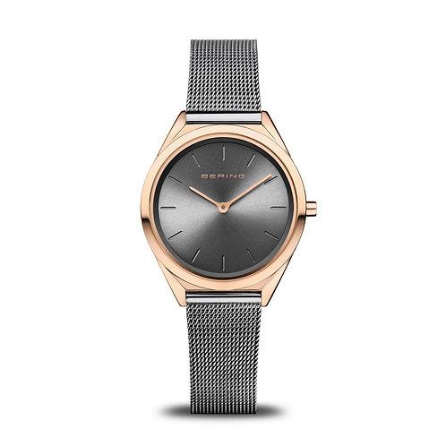 Bering - Ultra Slim - oro rosa brilliante - Orologio Unisex - 17031-369