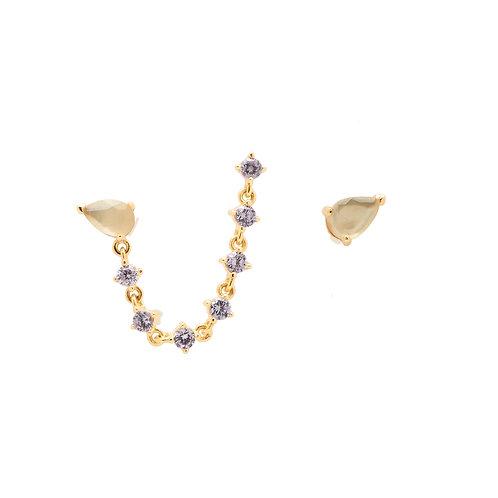 PdiPaola - Orecchini dorati Joanne argento 925 AR01-245-U