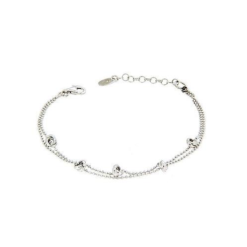 Unoaerre - Bracciale da donna in argento bianco 2 fili 700YHH0974100