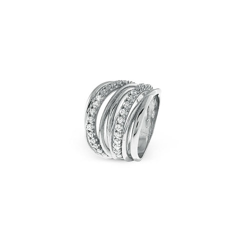 Unoaerre - Anello donna in argento bianco 700YAF1971000 misura 16