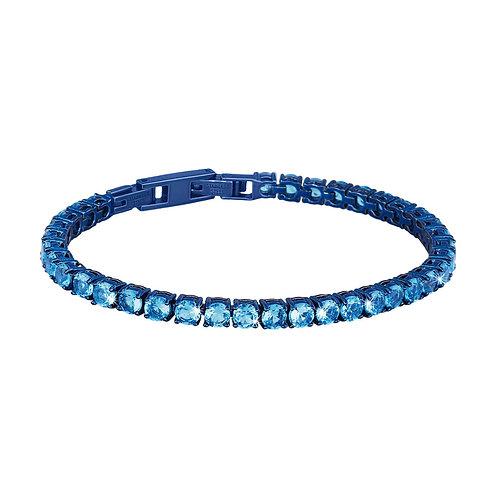 2Jewels - Bracciale tennis donna in acciaio 316L blu 231376