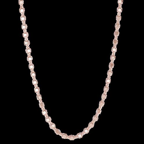 Rosato - Collana in Argento 925%, galvanica oro rosa RZC017