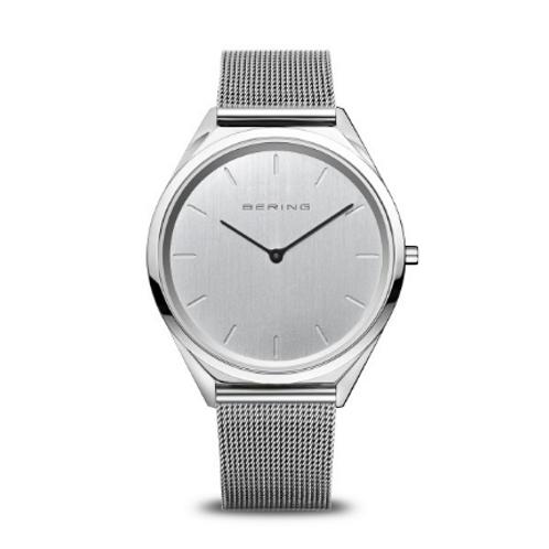 Bering - Ultra Slim - argento brilliante - Orologio unisex - 17039-000