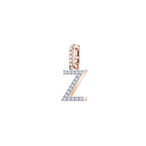Swarovski – REMIX COLLECTION CHARM Z, BIANCO, PLACCATO ORO ROSA 5437627