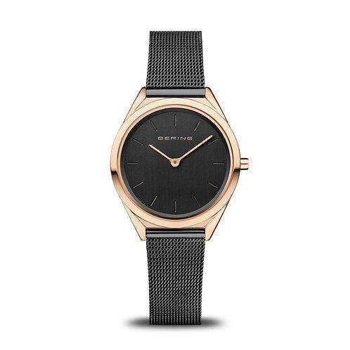 Bering - Ultra Slim - oro rosa brilliante - Orologio Unisex - 17031-166