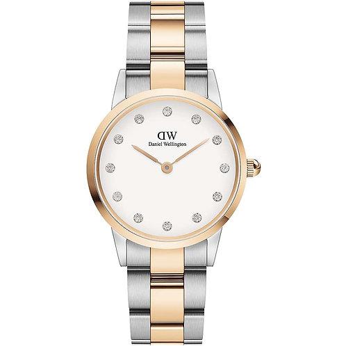 Daniel Wellington - Iconic Link Lumine 28MM Rose Gold/Silver White DW00100359