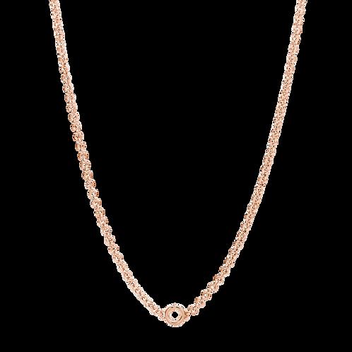 Rosato - Collana in Argento 925% placcatura oro rosa RZC004