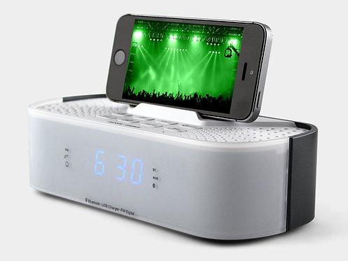 AUX/FM Radio Alarm Clock