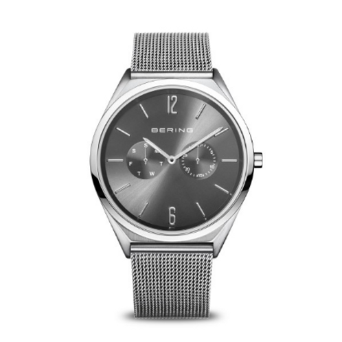 Bering - Ultra Slim - argento brilliante/spazzolato - Orologio Unisex 17140-009