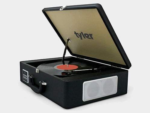 Record Turntable Stereo System (with Carrying Case)