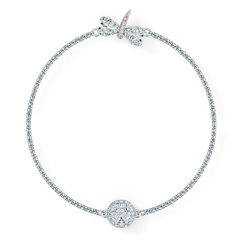 Swarovski - STRAND REMIX COLLECTION DRAGONFLY, BIANCO, PLACCATO RODIO 5520650