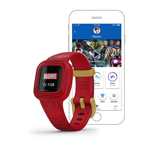 Garmin - Vivofit jr. 3 - Marvel Iron Man 010-02441-11