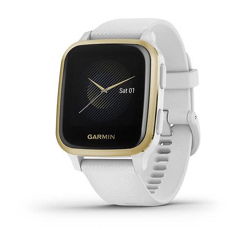 Garmin - Venu Sq - White Light Gold 010-02427-11