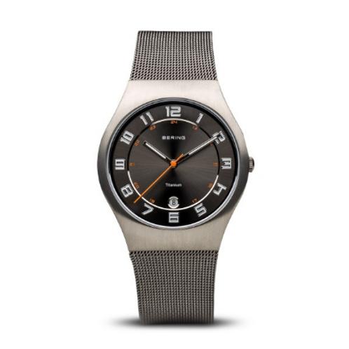 Bering - Classic - grigio spazzolato - Orologio Uomo - 11937-007