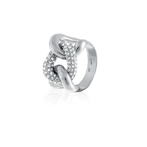 Unoaerre - Anello donna in argento bianco 700YAF1780000 misura 16