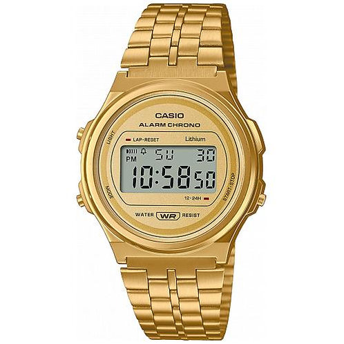Casio - Vintage orologio A171WEG-9AEF