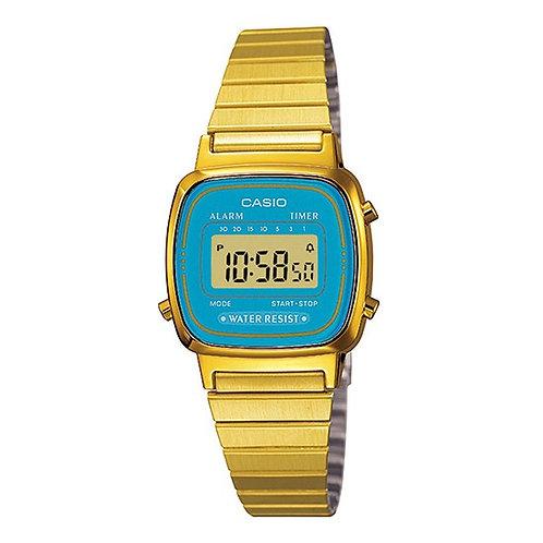 Casio - Vintage Mini orologio donna LA670WGA-2DF